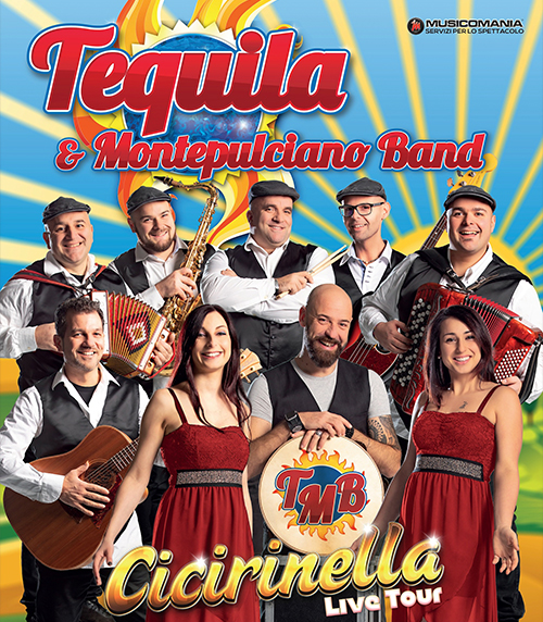 Tequila & Montepulciano Band