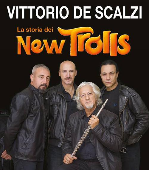 La storia dei New Trolls con Vittorio De Scalzi